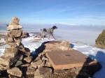 Summit of Frary Peak